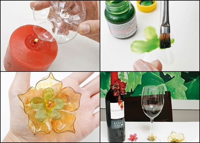 sticlele din plastic